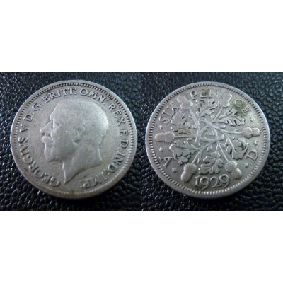 6 Pence 1929