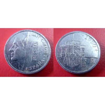 Španělsko - 1 peseta 1990
