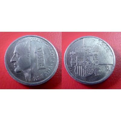 Španělsko - 1 peseta 1995