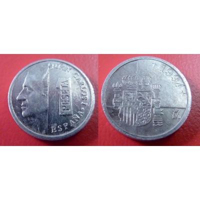 Španělsko - 1 peseta 1994