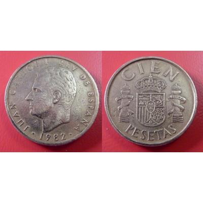 Španělsko - 100 Pesetas 1982