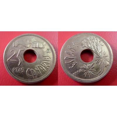 Španělsko - 25 pesetas 1994