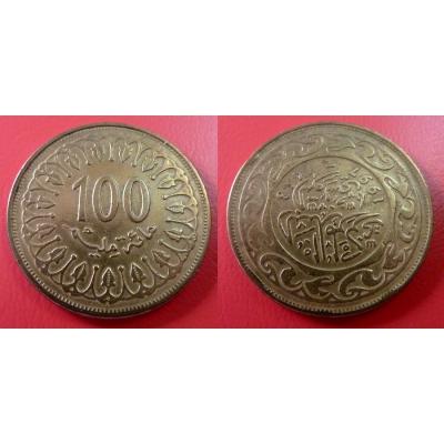 Tunisko - 100 Mallīm 1997