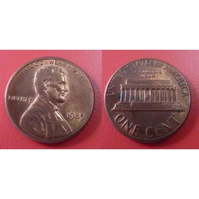 Spojené státy americké - 1 cent 1985
