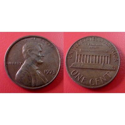 Spojené státy americké - 1 cent 1973