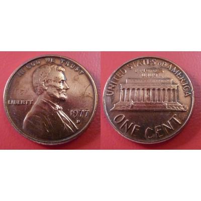 Spojené státy americké - 1 cent 1977 D