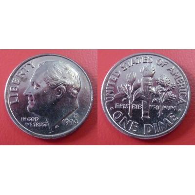 Spojené státy americké - 1 dime 1994 P