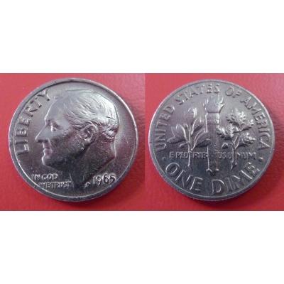 Spojené státy americké - 1 dime 1965