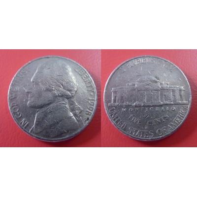 Spojené státy americké - 5 cents 1998