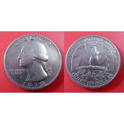 Spojené státy americké - 1/4 dolar 1978