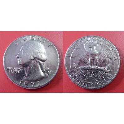 Spojené státy americké - 1/4 dolar 1971