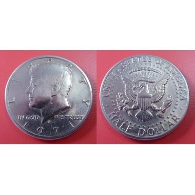 Spojené státy americké - 1/2 dolar 1971