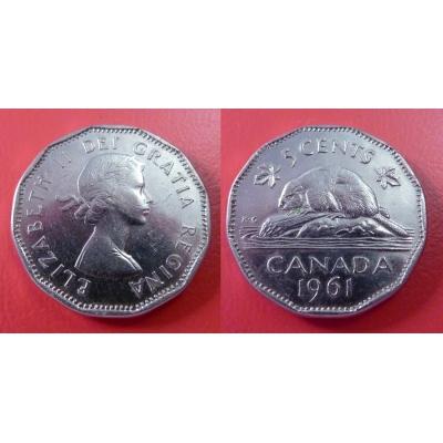 Kanada - 5 cents 1961