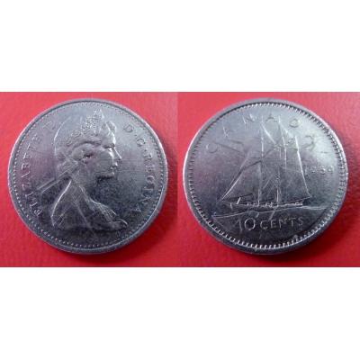 Kanada - 10 cents 1969