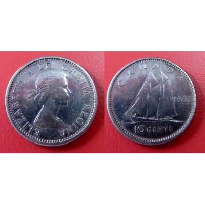 Kanada - 10 cents 1963