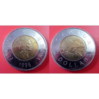 Kanada - 2 dollars 1996