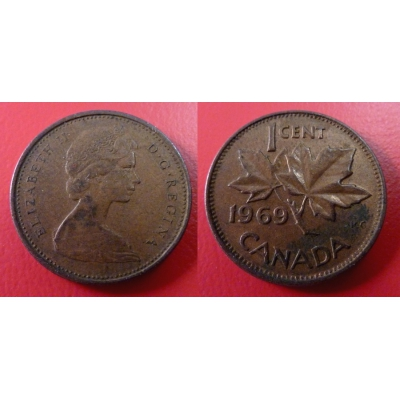 Kanada - 1 cent 1969