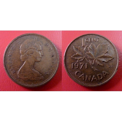 Kanada - 1 cent 1971