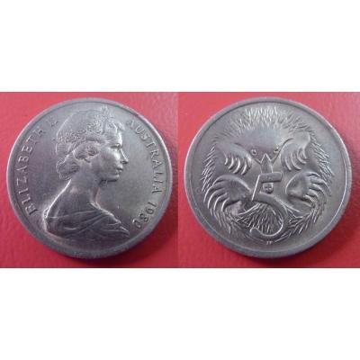 Austrálie - 5 cents 1980