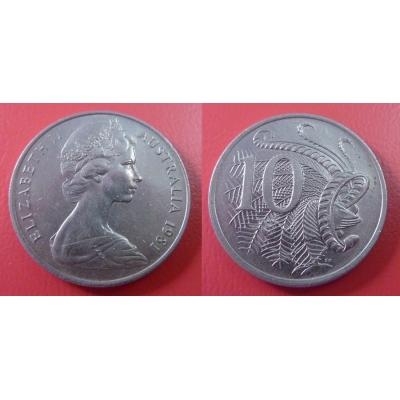 Austrálie - 10 cents 1981