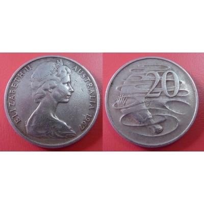 Austrálie - 20 cents 1967