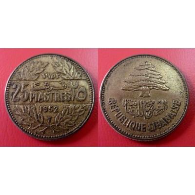 25 piastres 1952