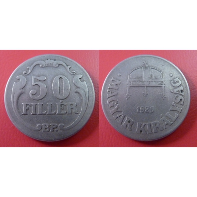 50 Fillér 1926 BP