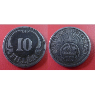 10 Fillér 1942 BP