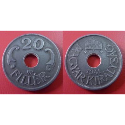 Maďarsko - 20 Fillér 1941 BP