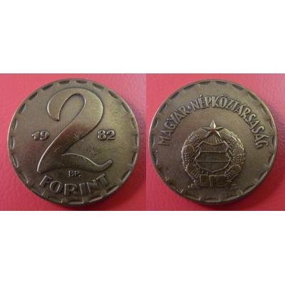 Maďarsko - 2 Forint 1982