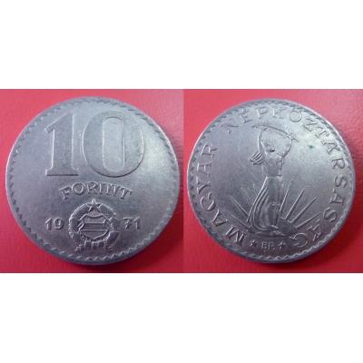 Maďarsko - 10 forint 1971