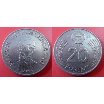 Maďarsko - 20 forint 1984