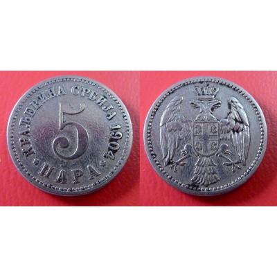 5 para 1904