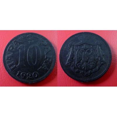Jugoslávie - 10 para 1920