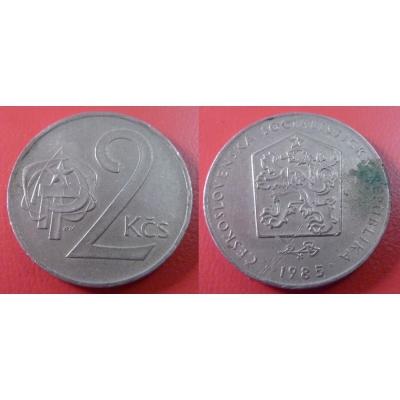 2 koruny 1985