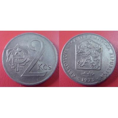 2 koruny 1973