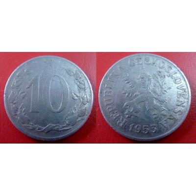 10 haléřů 1953