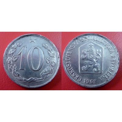 10 haléřů 1968