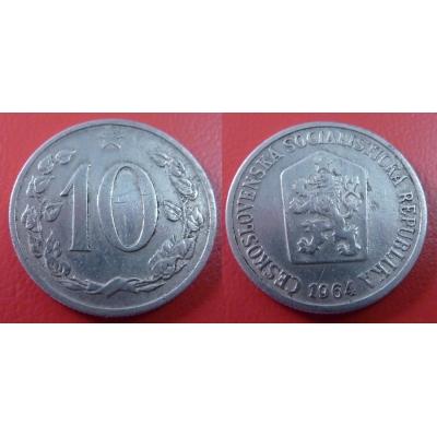 10 haléřů 1964
