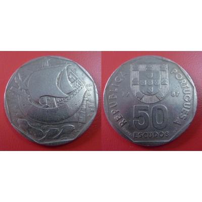 Portugalsko - 50 Escudos 1987