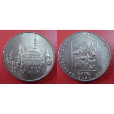 50 korun 1986 - Český Krumlov