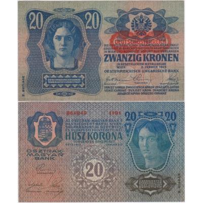 20 korun 1913, II. vydání