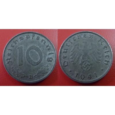 10 Reichspfennig 1941 B