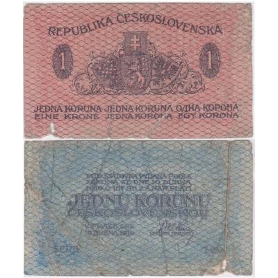 1 koruna 1919
