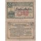 Rakousko - Notgeld Kassenschein 50 Haléřů 1921