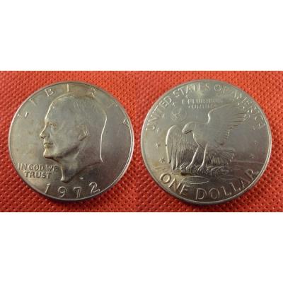 1 dolar 1972 D - Eisenhowerův dolar