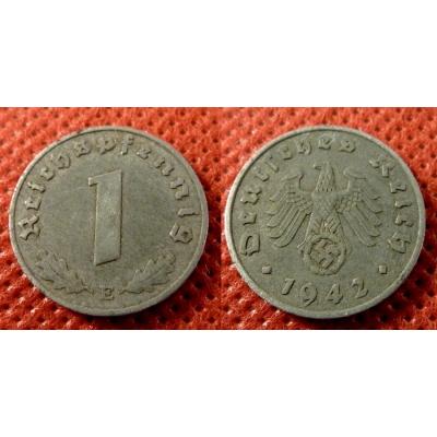 1 Reichspfennig 1942 E