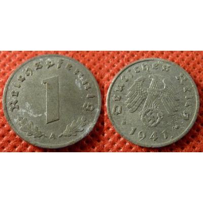 1 Reichspfennig 1941 A