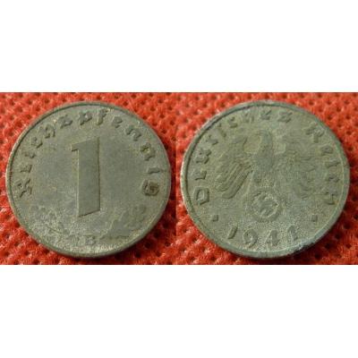 1 Reichspfennig 1941 B