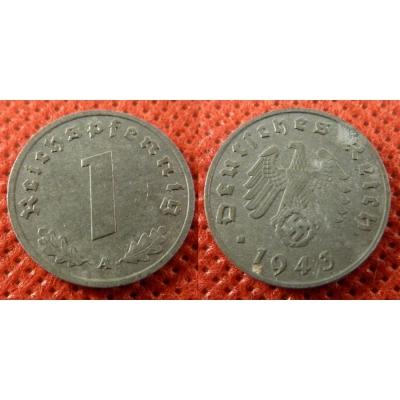 1 Reichspfennig 1943 A